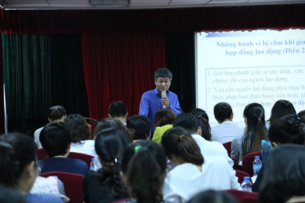 EFY Việt Nam tổ chức Hội nghị Chuyên đề về thanh tra lao động