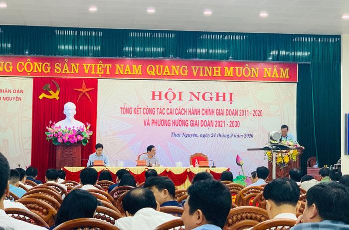 Bằng khen tập thể, cá nhân có thành tích xuất sắc trong phong trào thi đua CCHC tỉnh Thái Nguyên