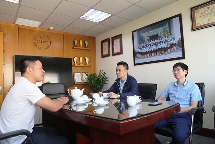 SNV Đăk Nông đến thăm EFY Việt Nam