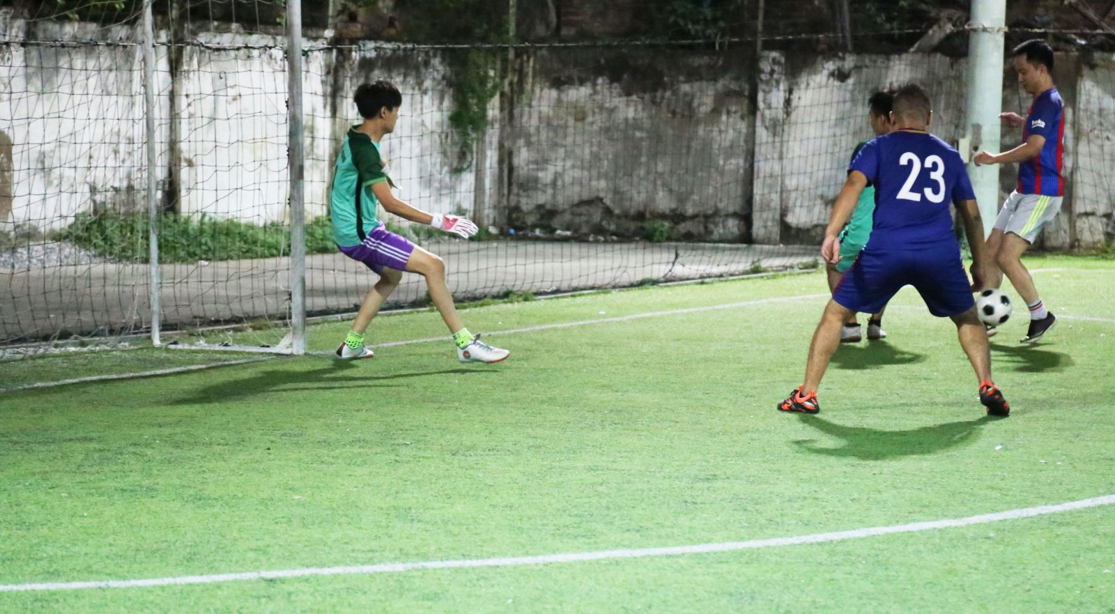 EFY 11Years: FC EFY Việt Nam giao hữu bóng đá cùng FC Tổng Cục Thuế