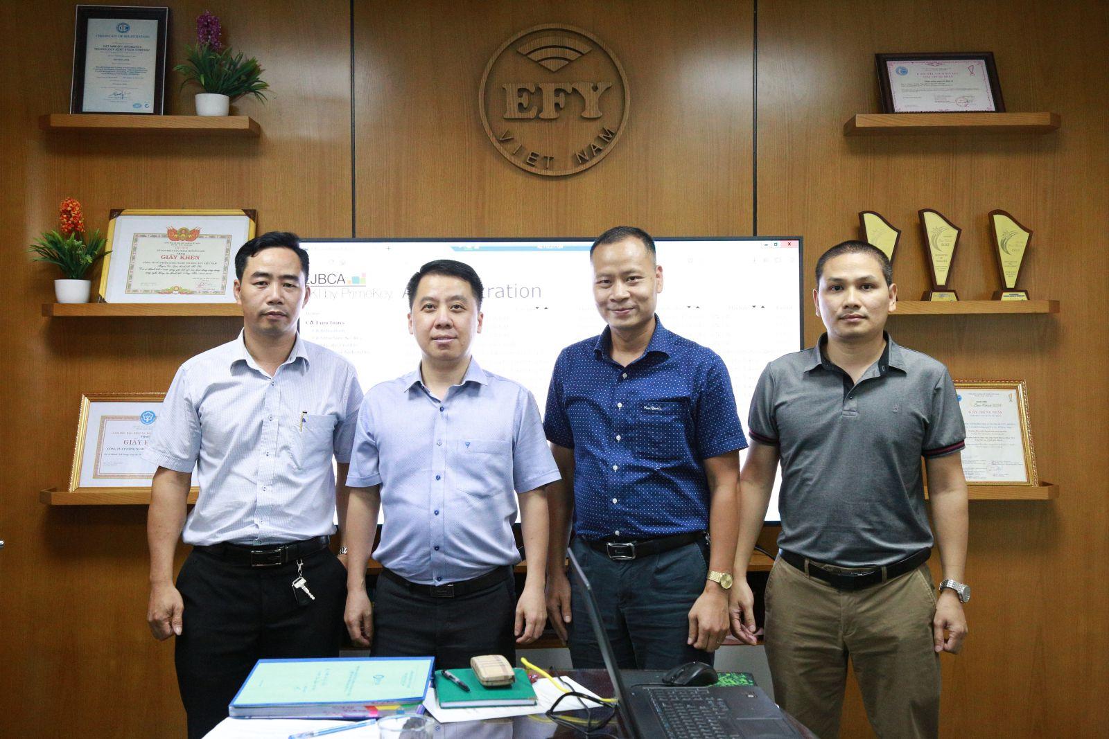 EFY Việt Nam chính thức cung cấp dịch vụ chứng thực chữ ký số công cộng