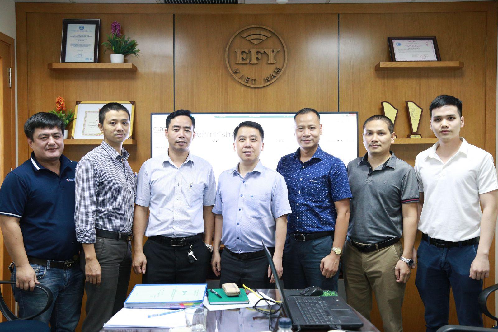 EFY Việt Nam hoàn thành kiểm tra kỹ thuật cung cấp dịch vụ chữ ký số