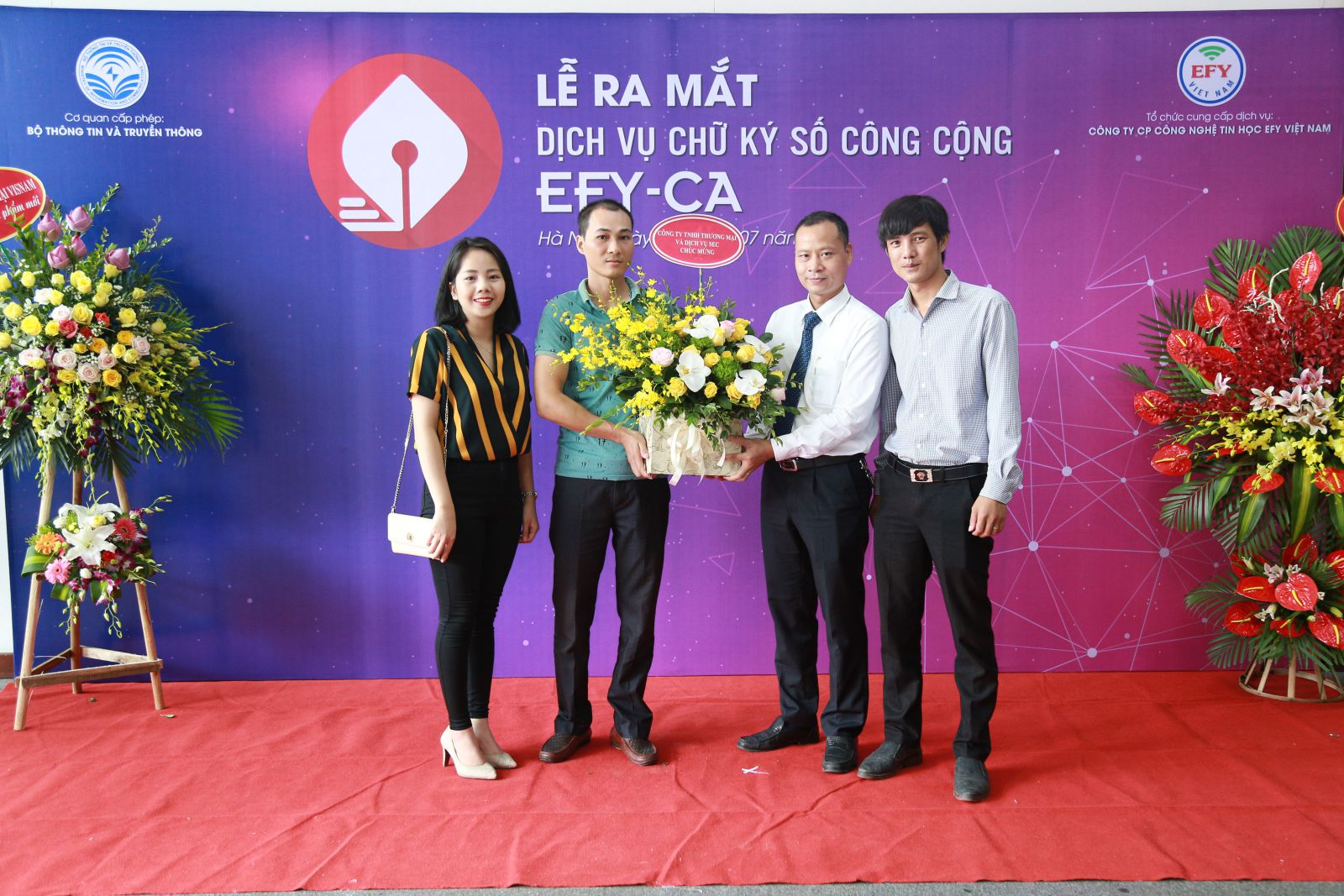 Dân trí- EFY Việt Nam ra mắt dịch vụ chữ ký số công cộng EFY-CA