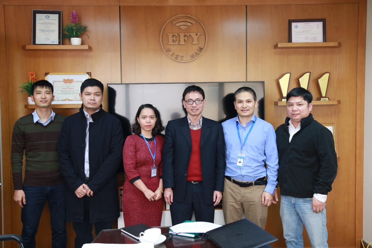 EFY Việt Nam hoàn thành việc kiểm tra số liệu - ảnh 1