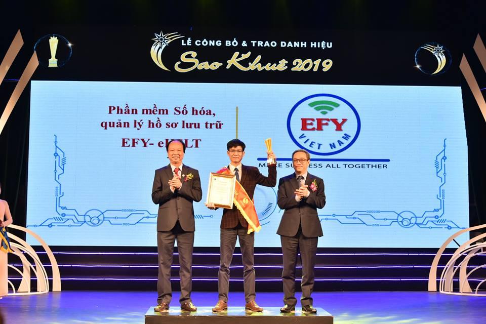 EFY Việt Nam nhận giải Sao Khuê 2019