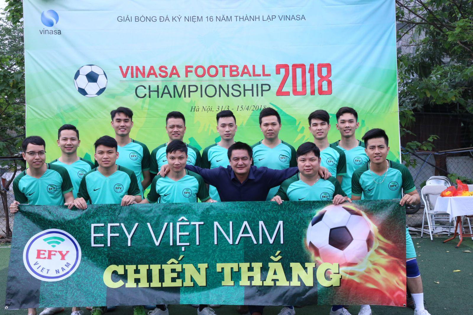 VINASA'S Football Championship 2018 - Nhịp cầu kết nối các doanh