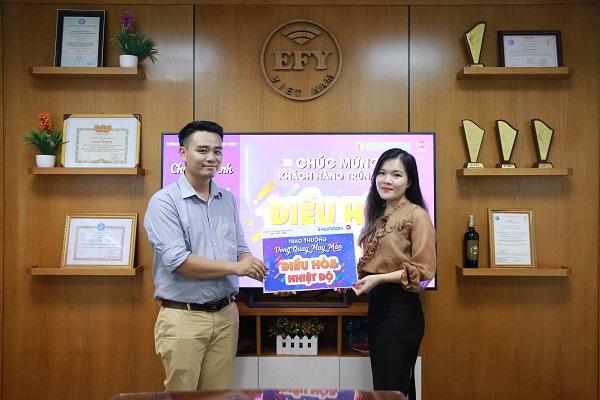 game Vòng quay may mắn của EFY Việt Nam
